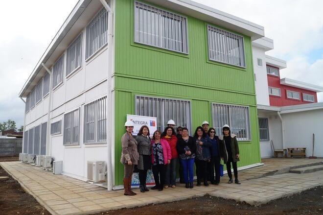 Por política presidencial de aumento de cobertura en salas cuna y jardines infantilesavanzan obras de nuevo jardín infantil en Valdivia