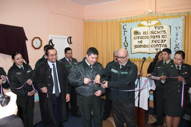 Autoridades inauguraron espacio APAC al interior del Centro de Cumplimiento Penitenciario de Río Bueno