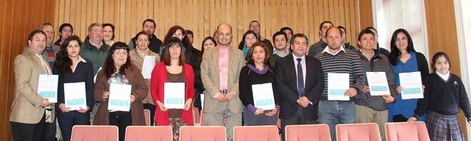 35 personas recibieron sus certificados del curso de aspectos laborales, tributarios y contables