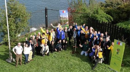 CONAF y Club de Leones firmaron convenio nacional de arborización