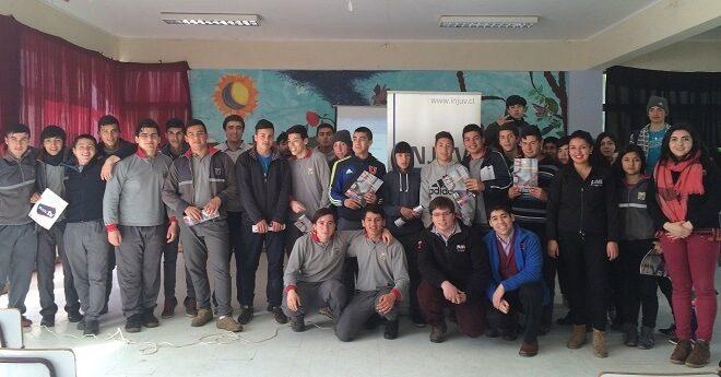 En la comuna de Máfil se dio inicio a las Escuelas de Ciudadanía impartidas por INJUV Los Ríos