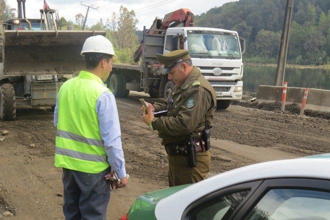 Inspección Ruta T-202 tramo Valdivia – Pichoy