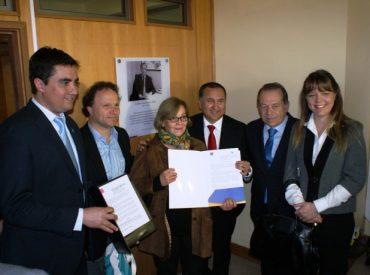 Intendente Montecinos presidió homenaje a Esteban Marinovic y Raúl Basso