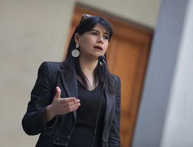 """Ministra de Justicia, Javiera Blanco, sobre paro del Registro Civil: """"Entregamos una propuesta, la disposición al diálogo sigue abierta y esperamos una respuesta formal del Gremio"""""""