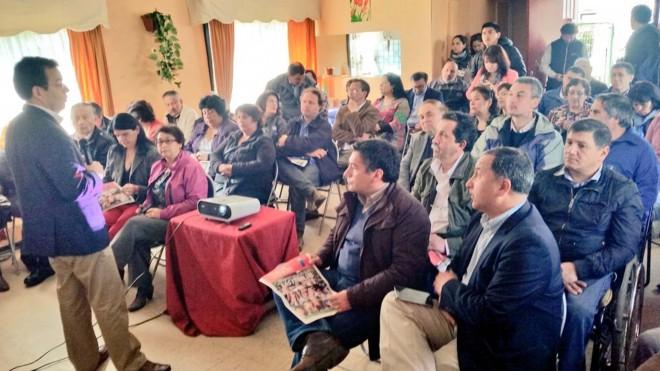 Ministro de Economía difundió alcances de Presupuesto 2016 en Valdivia