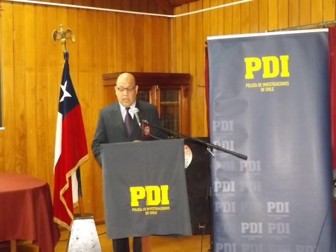 PDI Los Ríos lanza campaña para evitar el consumo de cocaína base
