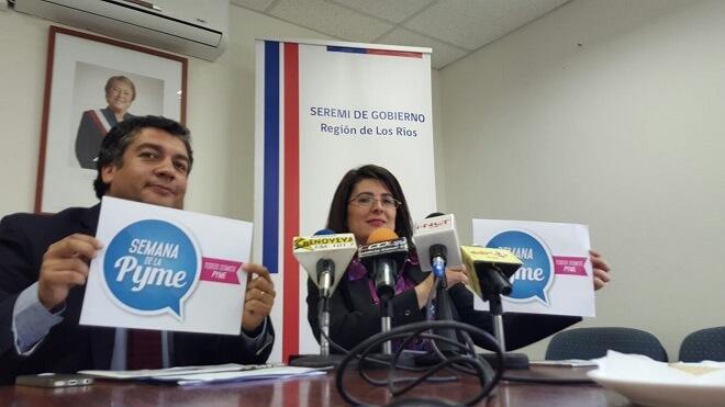 Semana de la Pyme 2015 en Los Ríos releva acciones de emprendimiento y asociatividad