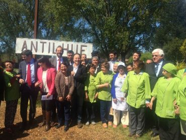 """Senador De Urresti: """"Reparación de la vía permitirá consolidar la Ruta del Vapor"""""""