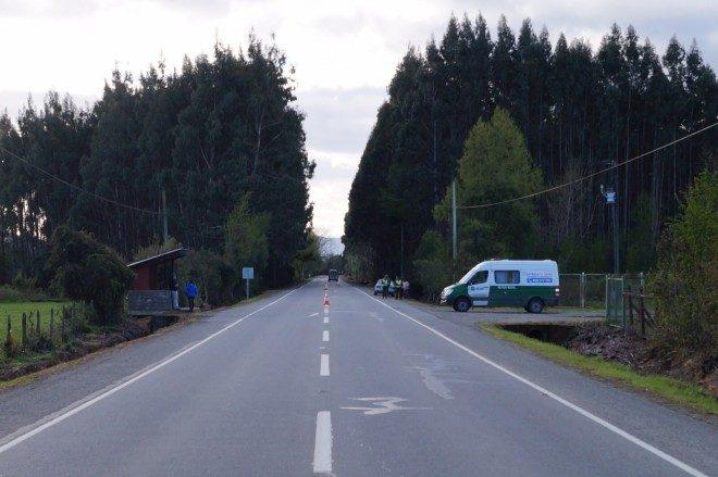 SIAT investiga atropello con resultado de muerte en Ruta CH-2013