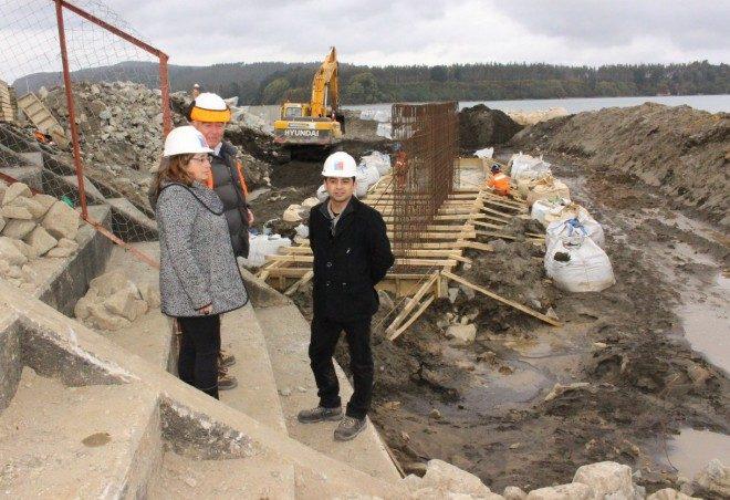 Habilitan zona de embarque provisoria por reposición de terminal de pasajeros de Niebla