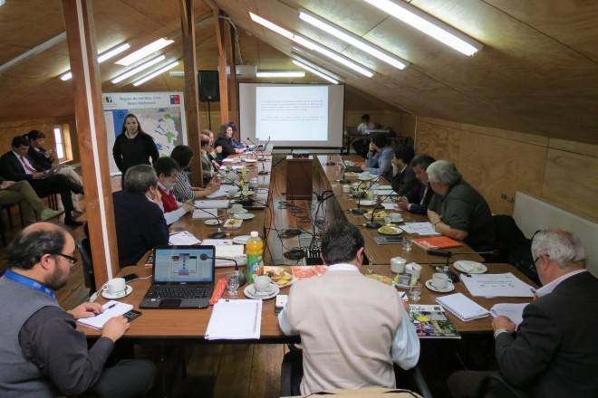 CORE Los Ríos inició jornadas de análisis para elaborar el presupuesto FNDR 2016