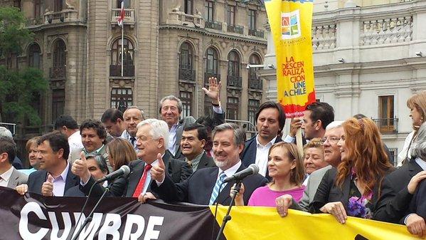 CORE Norambuena firmó manifiesto por la descentralización en #Cumbredelasregiones