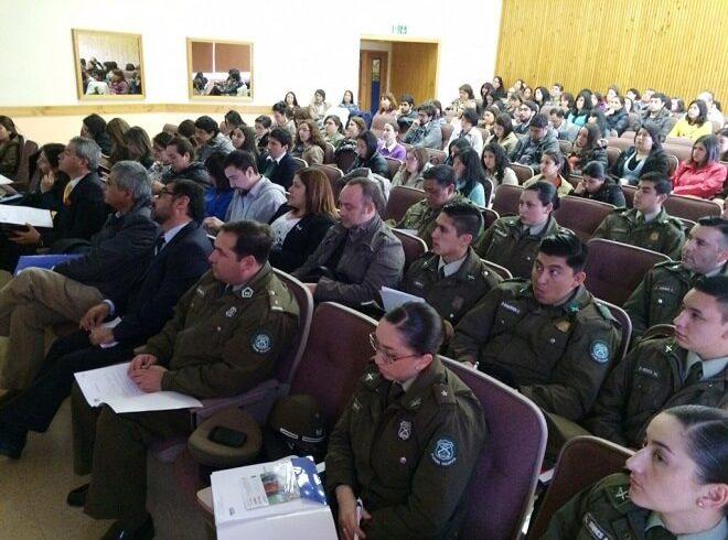 Empleados públicos de Los Ríos se capacitaron en Seminario Sobre Atención reparatoria a víctimas de delitos violentos