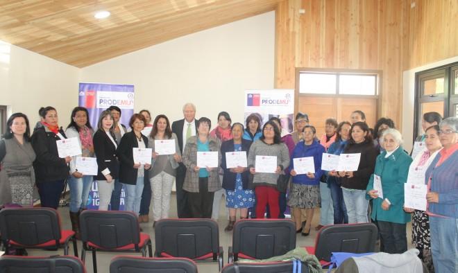 """Gobernador Gallardo y certificaciones de Prodemu en la Provincia: """"Las mujeres son motores de la sociedad y de nuestras familias, debemos integrarlas, darles las oportunidades que se merecen"""""""