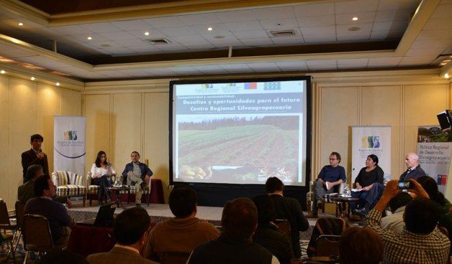 Exitosa convocatoria en Jornadas de trabajo del futuro Centro Regional de Innovación Silvoagropecuaria