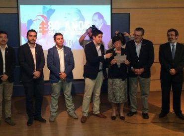 80 nuevos militantes juran por la Juventud DC en un acto donde se conmemoró un año más de la Falange Nacional