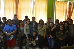 Alumnos PACE Liceo Gabriela Mistral de Máfil