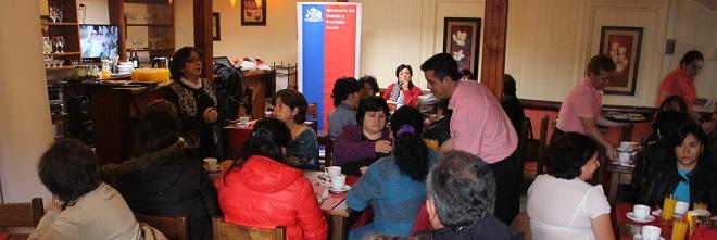 Trabajadoras de Casa Particular de Los Ríos celebraron su Día Nacional