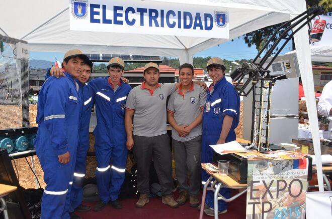 Panguipulli fue sede de la V feria de Educación Media Técnico Profesional de Los Ríos