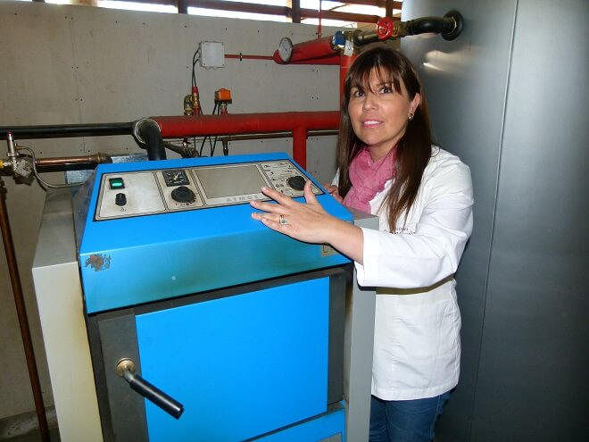 Carol ÁLvarez - cecinas Doña Marcelina - caldera biomasa (1)