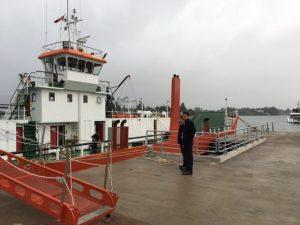 La barcaza Tehuelche entrará en operaciones durante los primeros días de enero próximo.