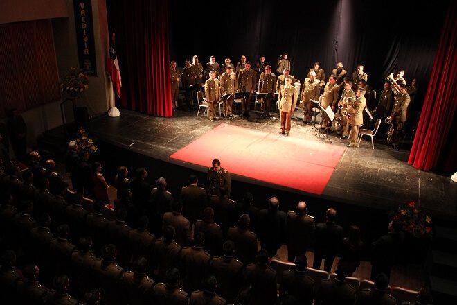 En solemne ceremonia egresaron 186 carabineros alumnos de Valdivia