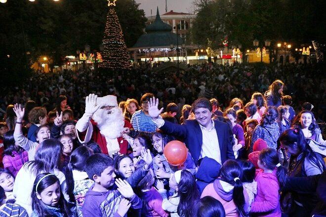 Hoy se enciende el Árbol de Navidad de Valdivia