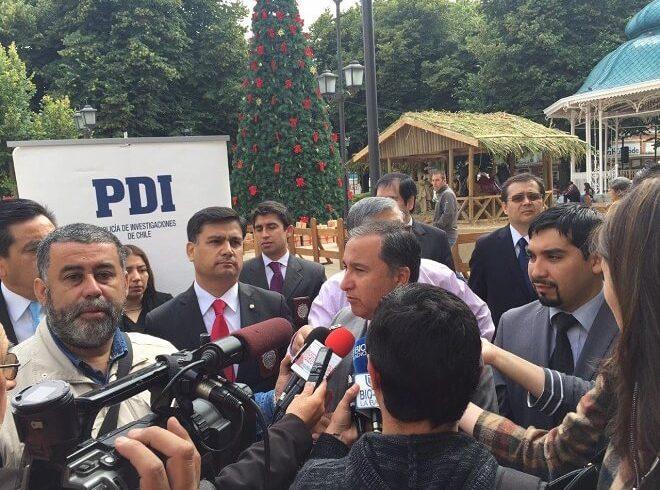 """PDI Los Ríos dio inicio a campaña """"Verano seguro en Valdivia"""""""