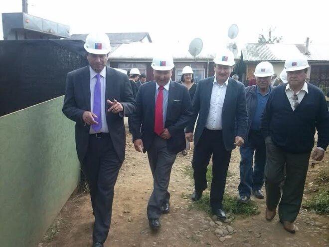 Autoridades regionales realizan visita inspectiva a obras de Sala Cuna y Jardín Infantil de Máfil