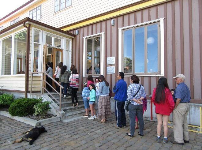 """Comenzó """"Valdivia y su Río"""" con niños y adultos simultáneamente"""