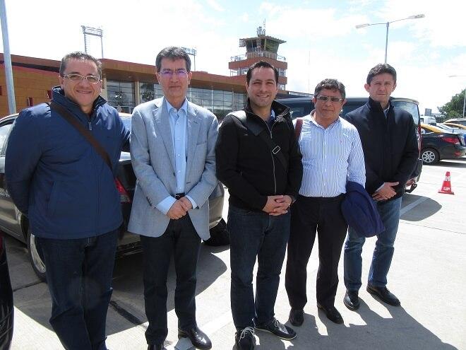 Delegación de autoridades de Mérida llegó a Valdivia para presenciar la ceremonia inaugural de la capital cultural más austral del mundo.
