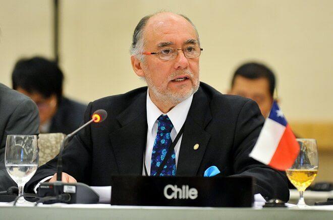 """Iván Flores en XII Asamblea Anual de la Cumbre del Pacífico: """"Es urgente que en Chile haya un nuevo sistema de preparación, control y atención de las emergencias"""""""