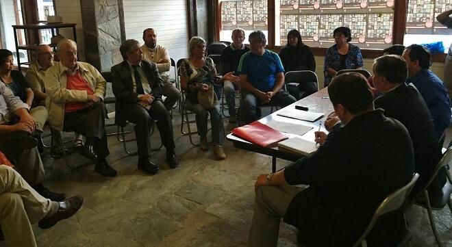 Intendente Montecinos ratificó compromiso del Gobierno con el sector costero
