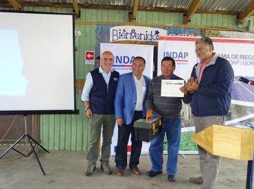 En la localidad de Trai-Traico concluye Ciclo de Proyectos de Riego en Los Ríos