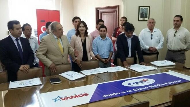 El PRI se inscribió como partido en la Región de Los Ríos
