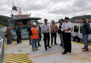 Este lunes 18 de enero comienza a operar el terminal de pasajeros provisorio de Niebla.