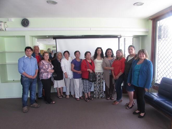 Trabajadores adultos mayores de Café Palace recibieron apoyo de Senama Los Ríos