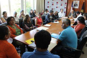 Autoridades se reunieron con dirigentes de comunidades y organizaciones defensoras del Humedal de Trumao y cuenca del Río Bueno
