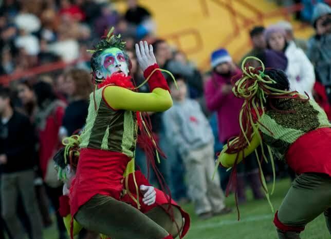 Con carnaval Chile Celebra el Verano en el centro de Valdivia