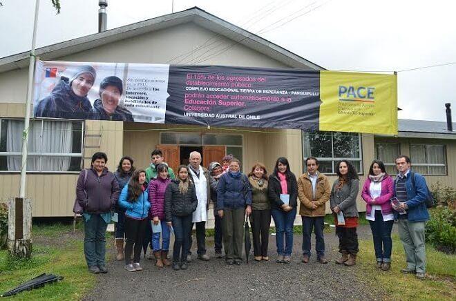Cinco nuevos colegios de Los Ríos se suman al programa PACE