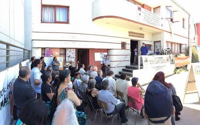 Conmemoraron octavo aniversario de casa de la memoria en Valdivia