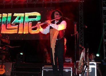 Illapu presentó su nuevo disco Con Sentido y Razón en la Plaza de Armas de Los Lagos
