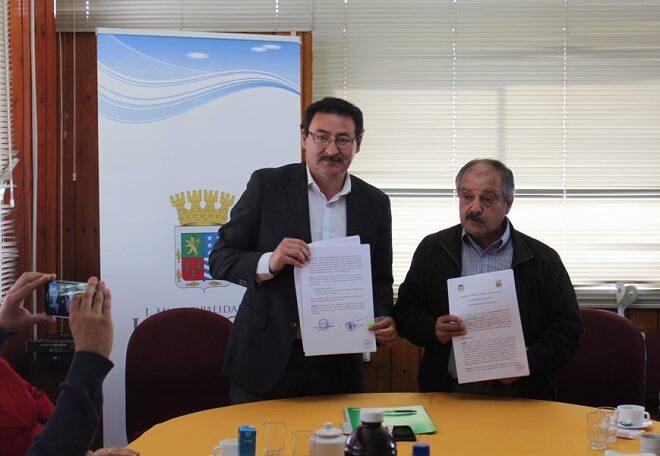 Municipalidades de Los Lagos y Mafil firman Convenio de Colaboración