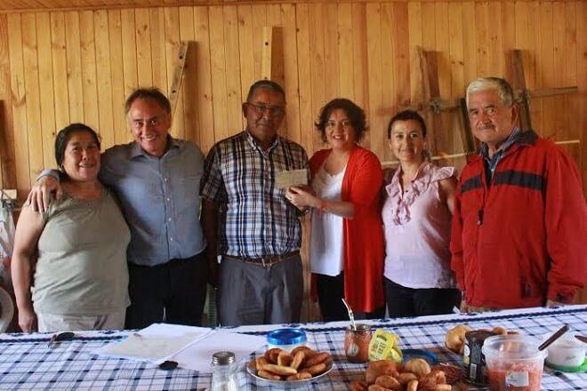 Organizaciones sociales de Lanco celebraron beneficio del Fondo Social Presidente de la República.