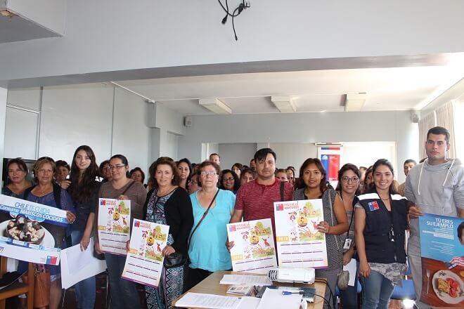 Seremi de Salud realizó una nueva capacitación a locatarios de muestras costumbristas