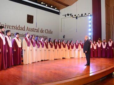Navidad coral universitariaen Valdivia