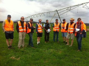 """Productores lecheros participan en seminario """"Tecnologías de riego en lecherías en Australia. Experiencias de una misión de prospección"""""""