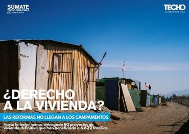 TECHO-Chile en Los Ríos se encuentra en proceso de recepción de voluntarios para que trabajen en conjunto con las familias de campamentos