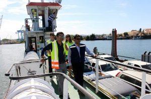 Más de 90 mil personas transportó la barcaza Tehuelche en sus 3 meses de operación. (1)