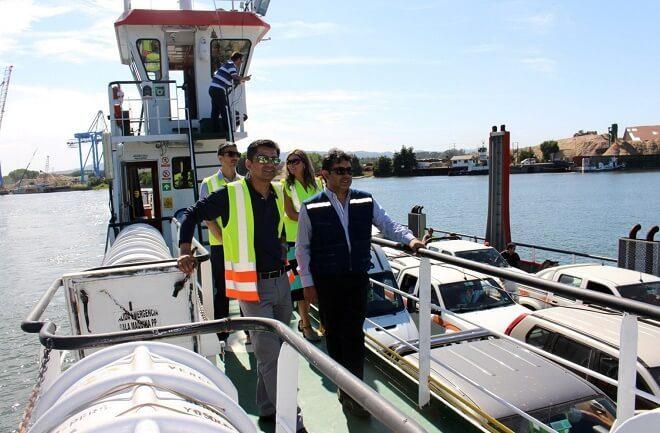 Luego de tres meses de operación, ayer jueves terminaron viajes  de la barcaza Tehuelche